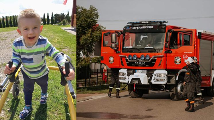 OSP Staniszewskie pomaga małemu Olkowi. Ty też możesz!  - Zdjęcie główne
