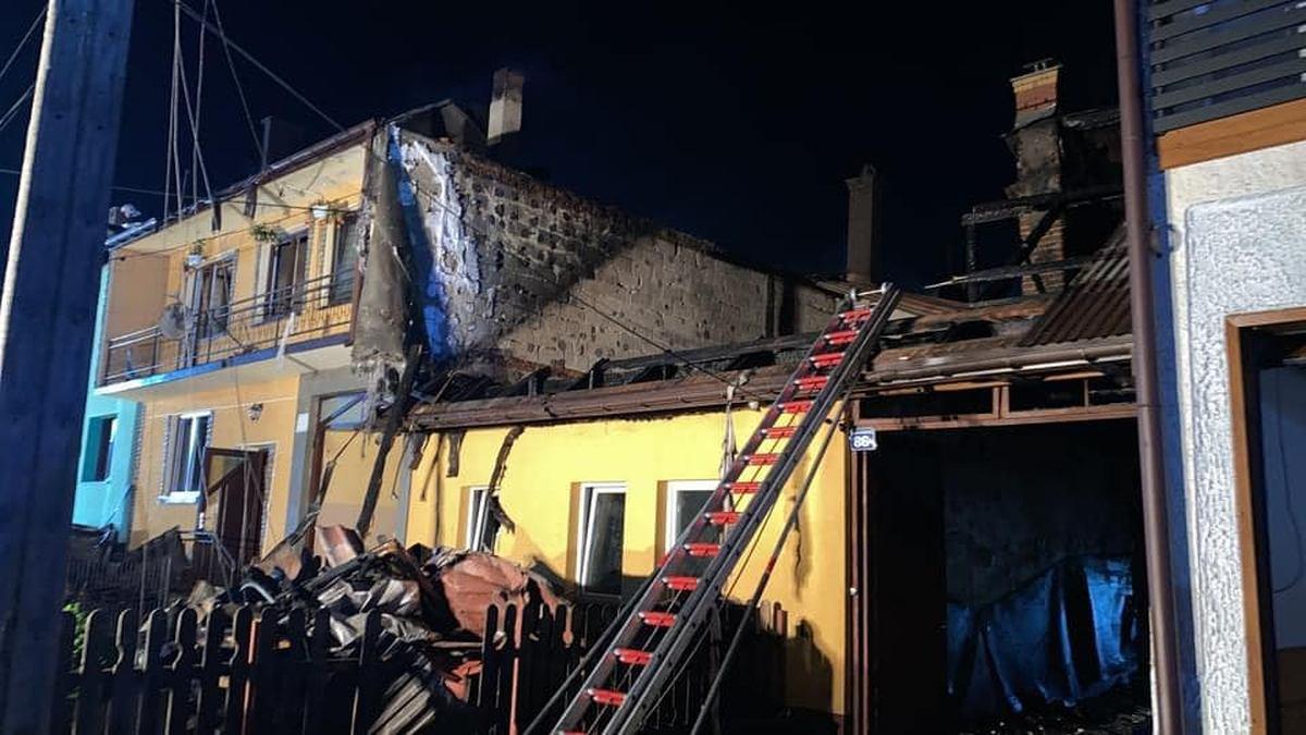Pożar w Nowej Białej. Skierowano apel do mieszkańców powiatu kolbuszowskiego - Zdjęcie główne