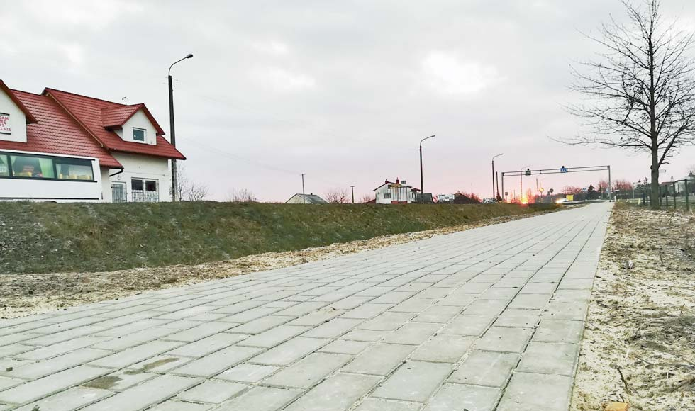 Kolbuszowa Górna ma już swój chodnik. O budowę ścieżki upominają się teraz mieszkańcy Kupna - Zdjęcie główne