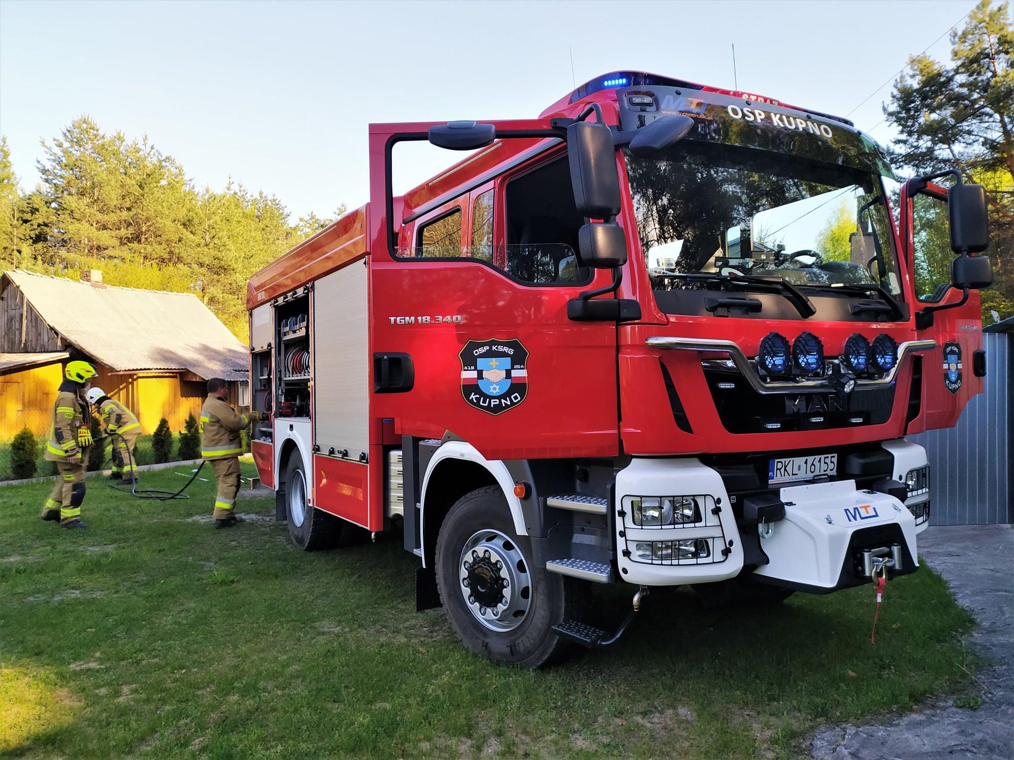 Pożary traw i lasów. Strażacy mieli wczoraj pełne ręce roboty [ZDJĘCIA] - Zdjęcie główne