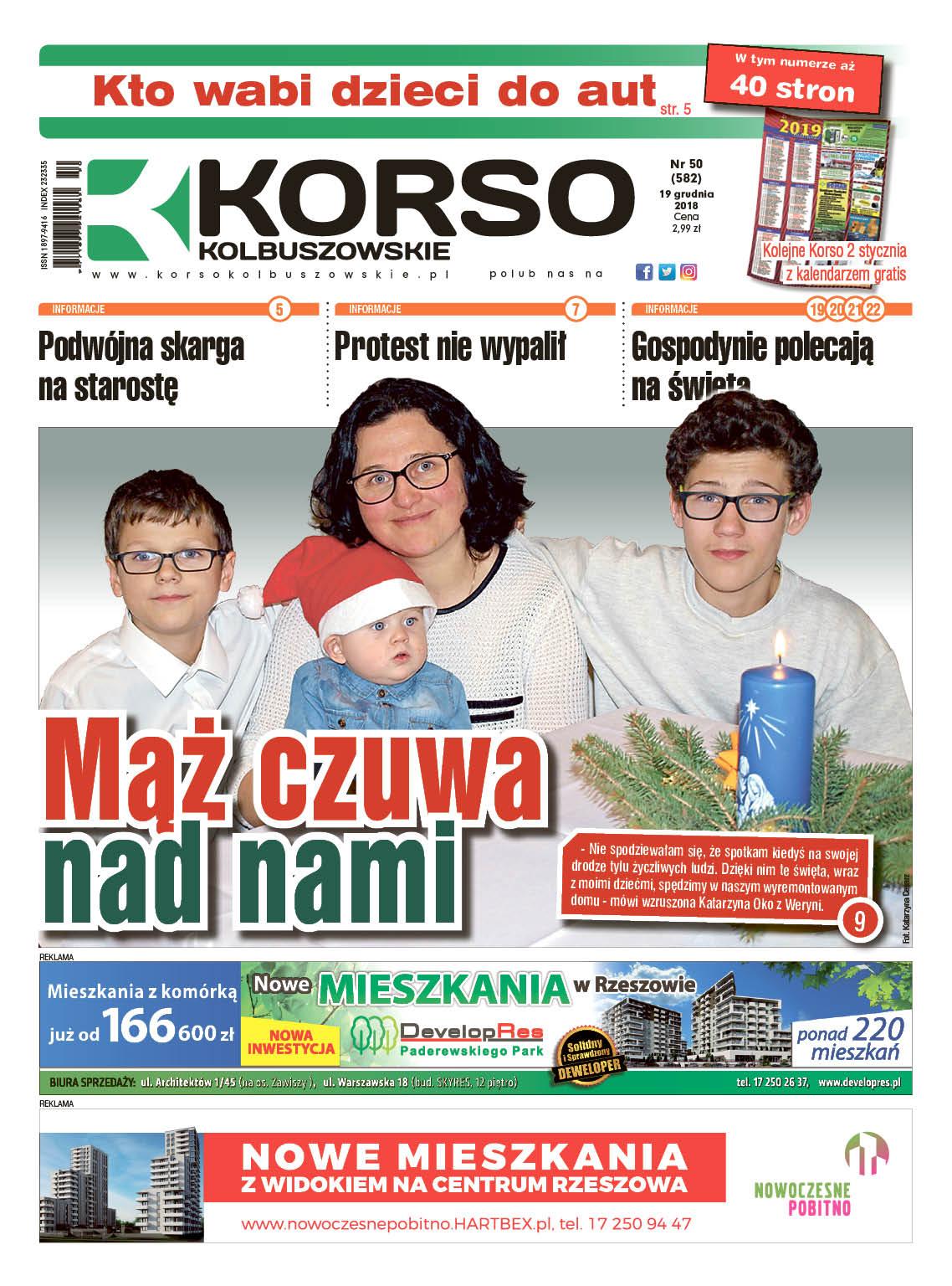 Korso Kolbuszowskie - nr 50/2018 - Zdjęcie główne
