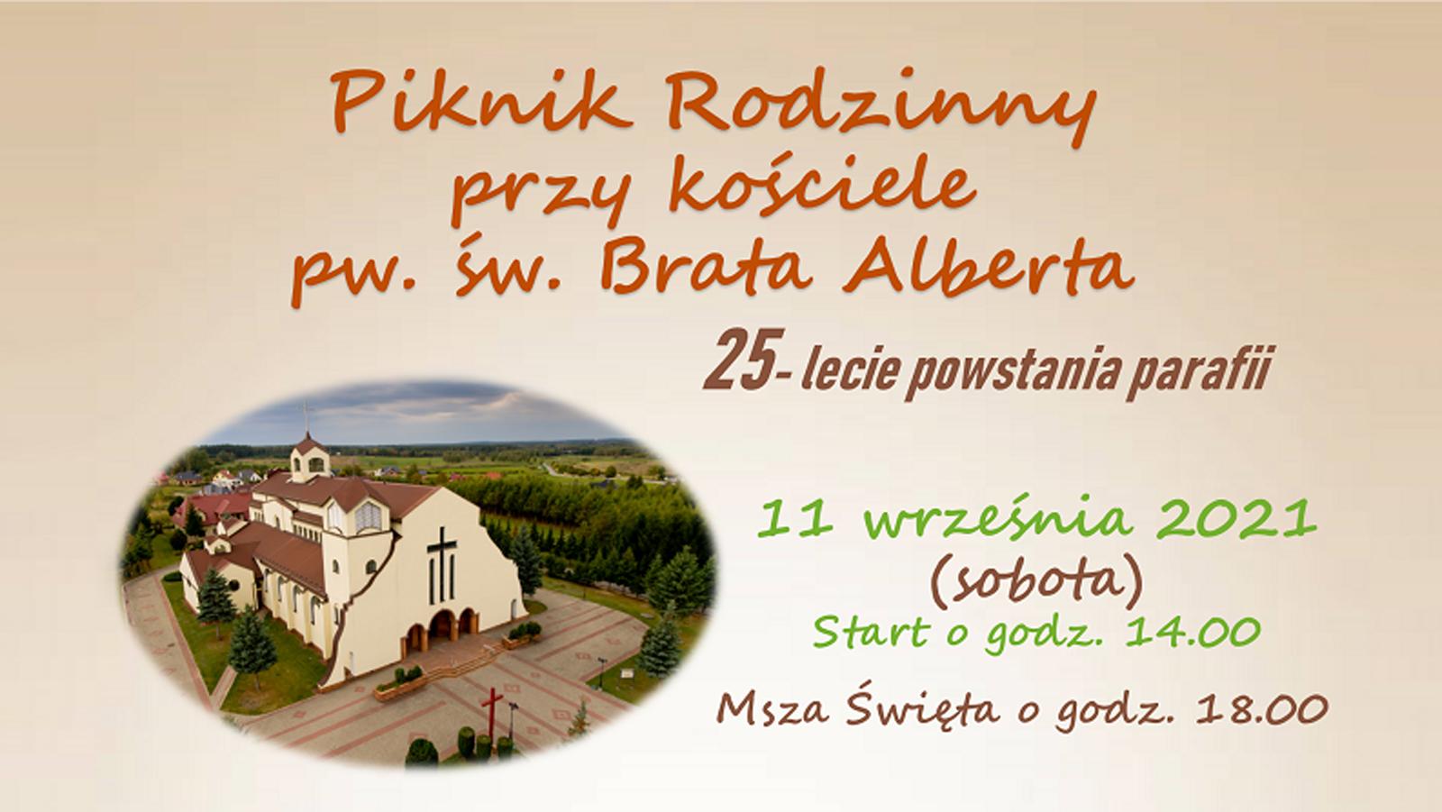 11 września: Piknik rodzinny przy kościele - Kolbuszowa 2021 - Zdjęcie główne