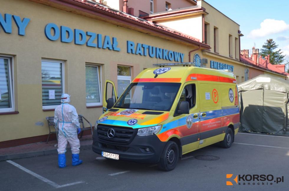 W sanockim szpitalu będą leczeni tylko i wyłącznie pacjenci z koronawirusem - Zdjęcie główne