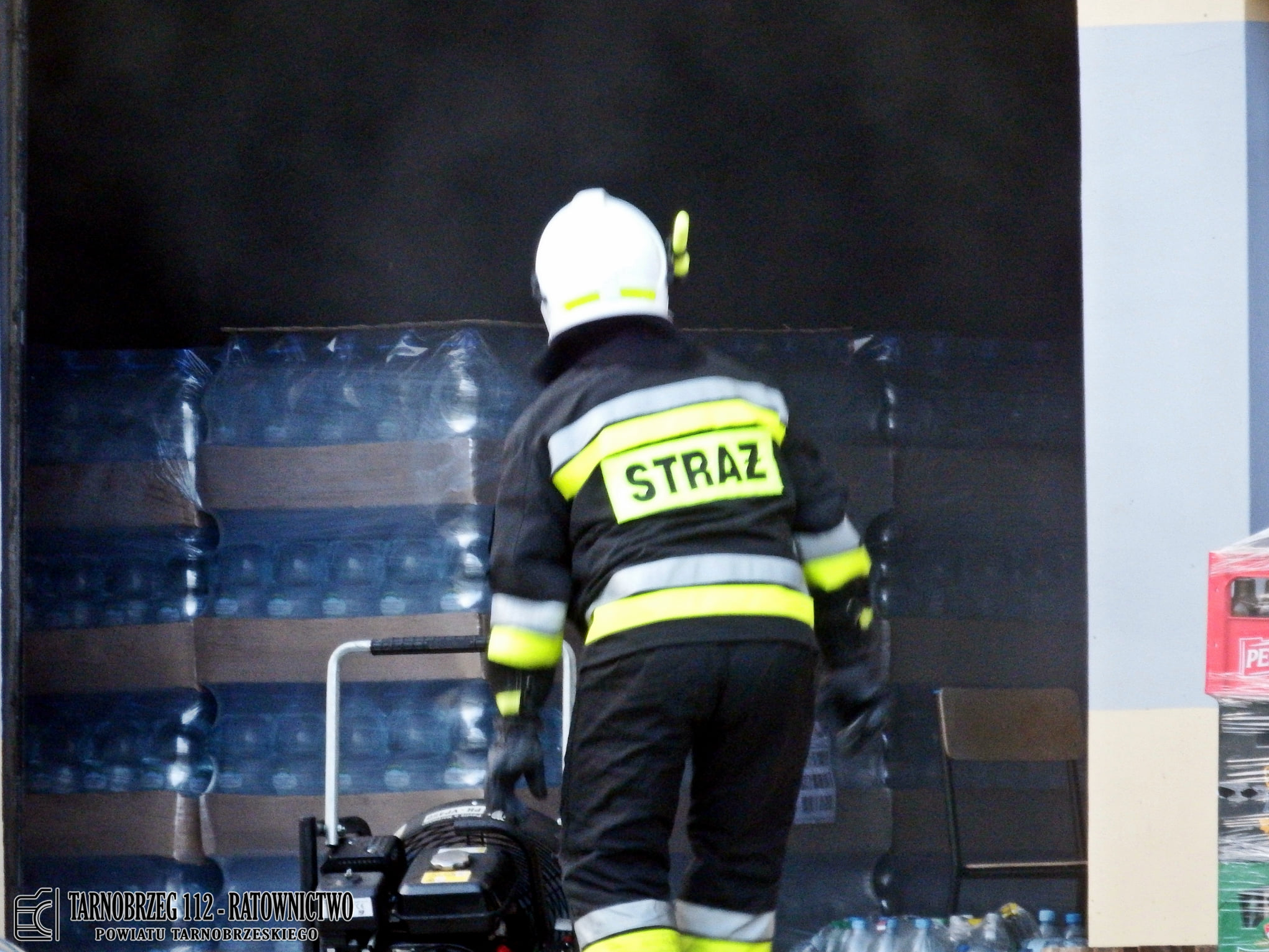 Podkarpacie: Ogień w magazynie w pobliżu naszego powiatu! - Zdjęcie główne