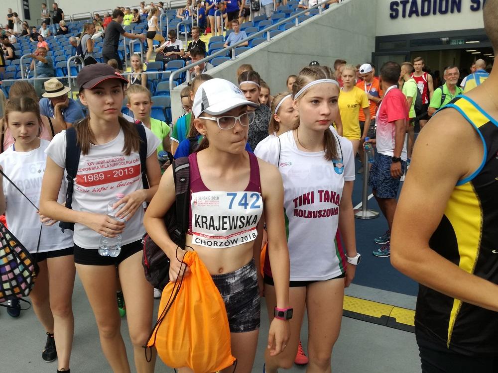 Biegaczka Monika Węgrzyn z Tiki-Taki wystartowała na Ogólnopolskiej Olimpiadzie Młodzieży - Zdjęcie główne