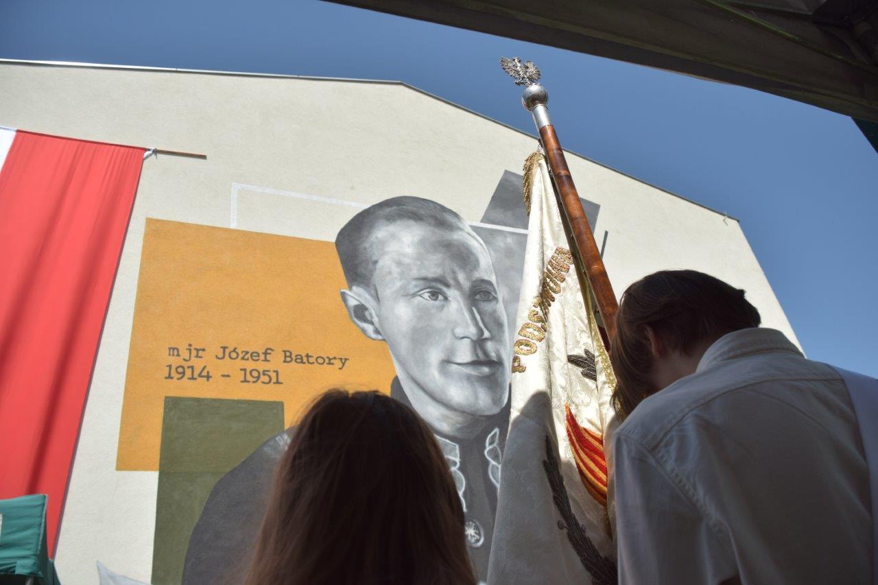 Odsłonięcie muralu Józefa Batorego w Weryni [ZDJĘCIA - WIDEO] - Zdjęcie główne