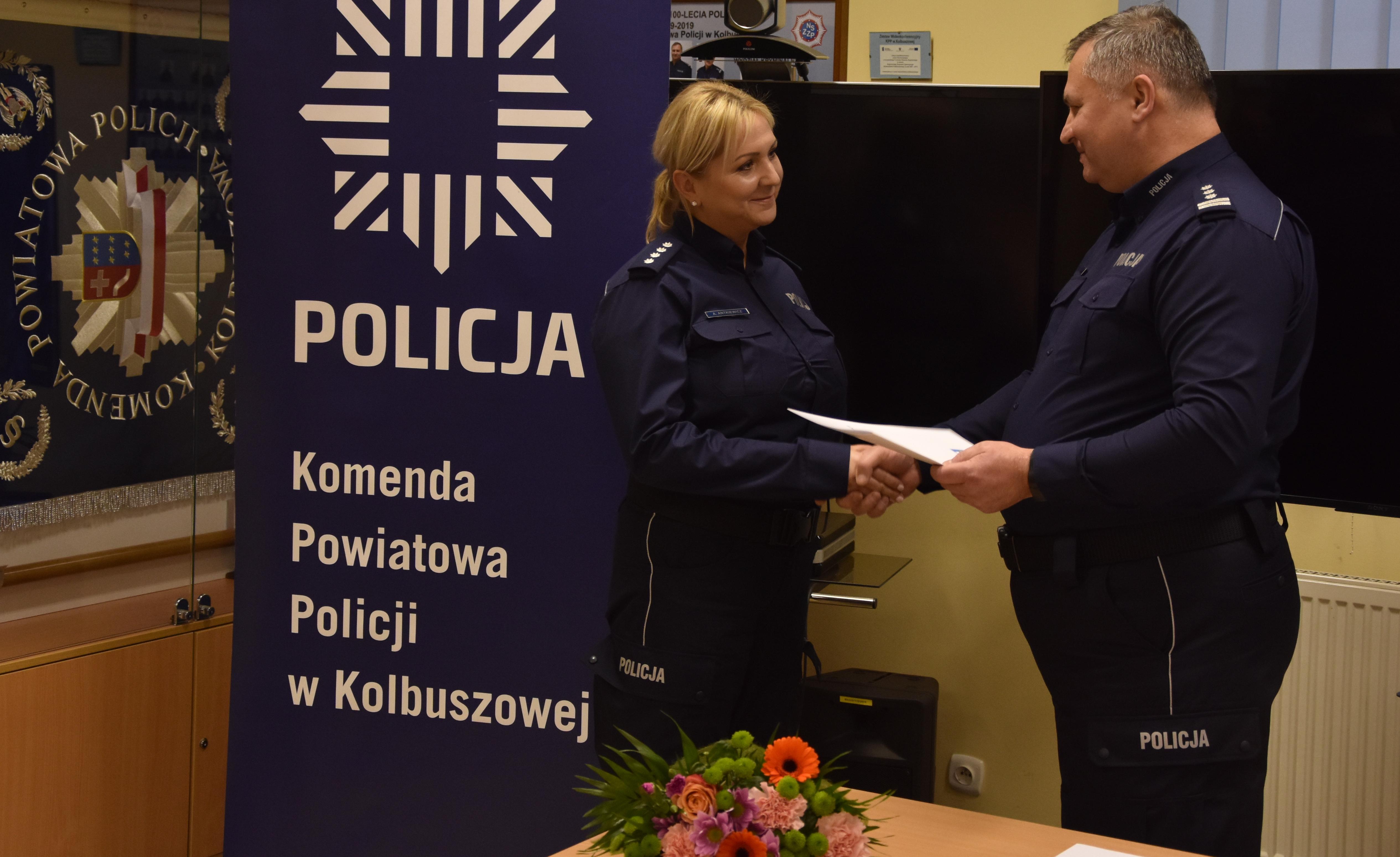 Poznajcie nowego zastępce komendanta kolbuszowskiej policji  - Zdjęcie główne