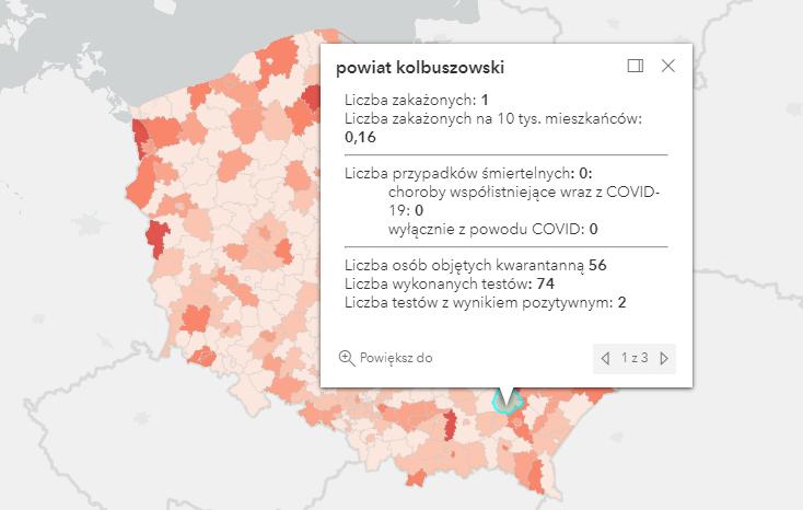 Jeden przypadek zakażenia Covid-19 w powiecie kolbuszowskim. W kraju ponad 700 [wtorek - 21 września] - Zdjęcie główne