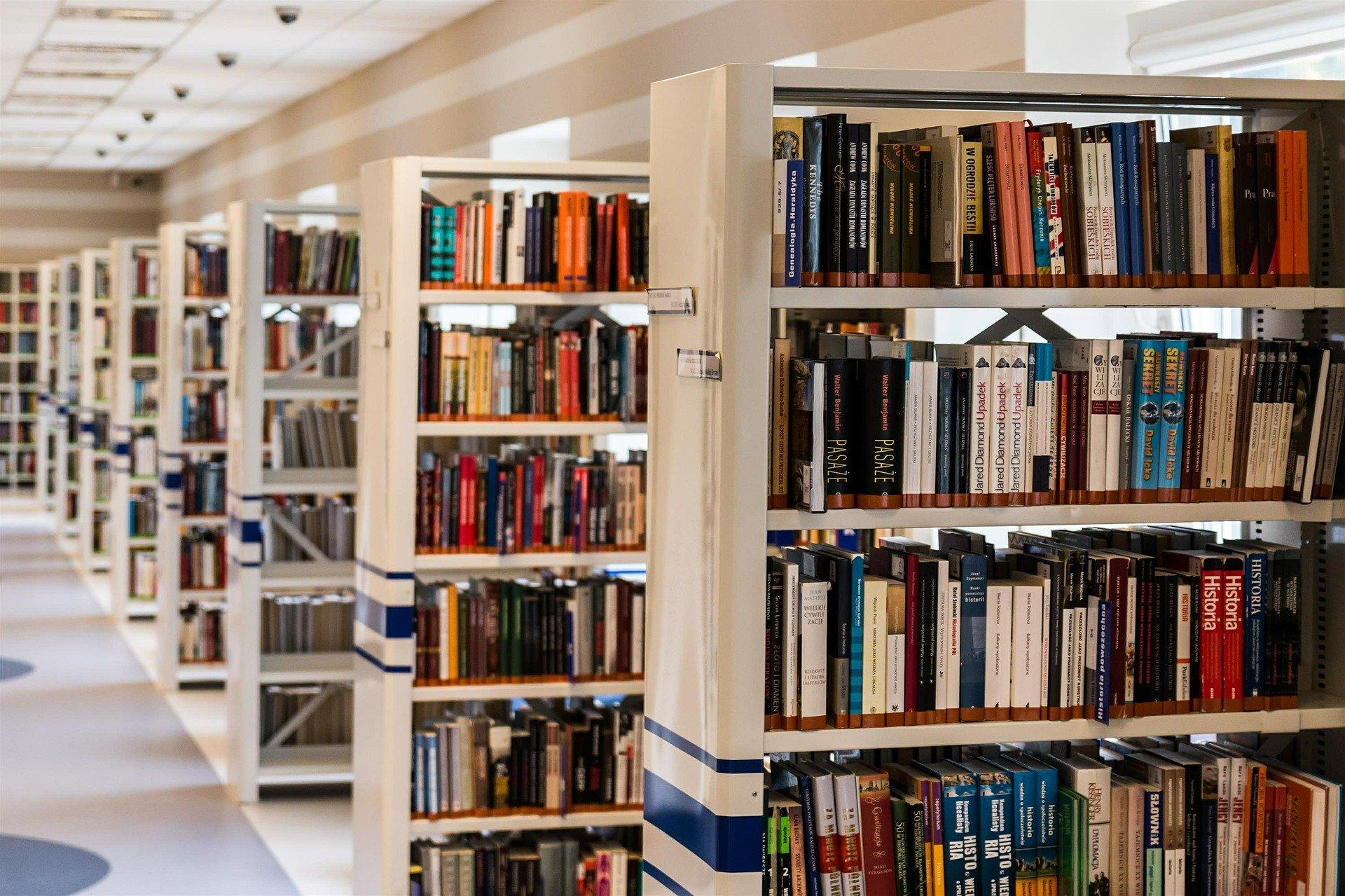 Przyjdź do biblioteki i zobacz wystawę  - Zdjęcie główne