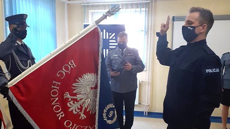 Nowy policjant w kolbuszowskiej komendzie [ZDJĘCIA] - Zdjęcie główne