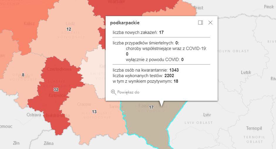 Zakażenia Covid-19 na Podkarpaciu [niedziela - 13 czerwca] - Zdjęcie główne