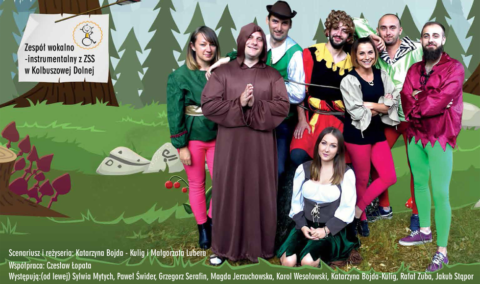 """Robin Hood w Kolbuszowej. Na spektakl i koncert zaprasza stowarzyszenie """"Iskierka"""" z Kolbuszowej Dolnej  - Zdjęcie główne"""