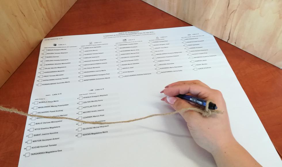 WYBORY PE: Tak głosowali mieszkańcy powiatu kolbuszowskiego  - Zdjęcie główne