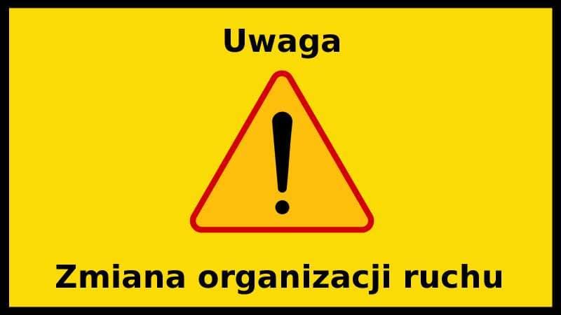 Uwaga! Od poniedziałku ruch wahadłowy na drodze wojewódzkiej  - Zdjęcie główne
