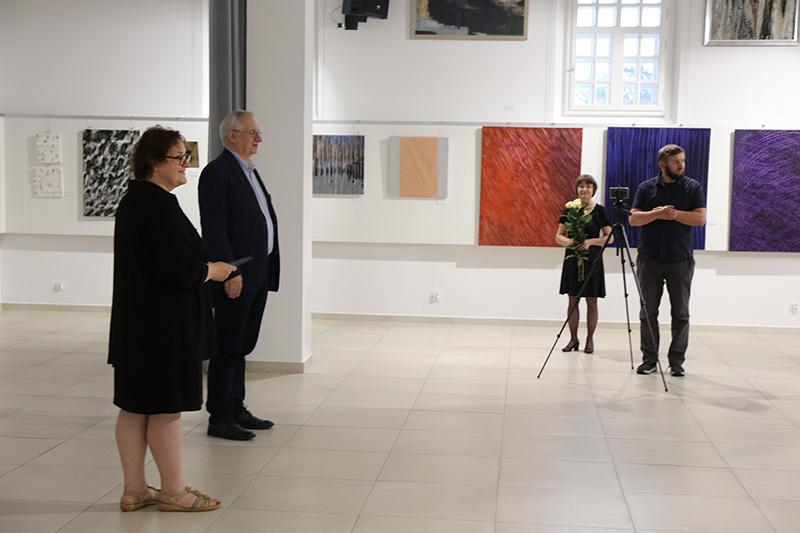 Wystawa malarska w dawnej synagodze w Kolbuszowej - Zdjęcie główne