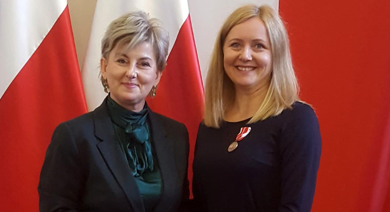 Nauczycielka z medalem od ministra - Zdjęcie główne
