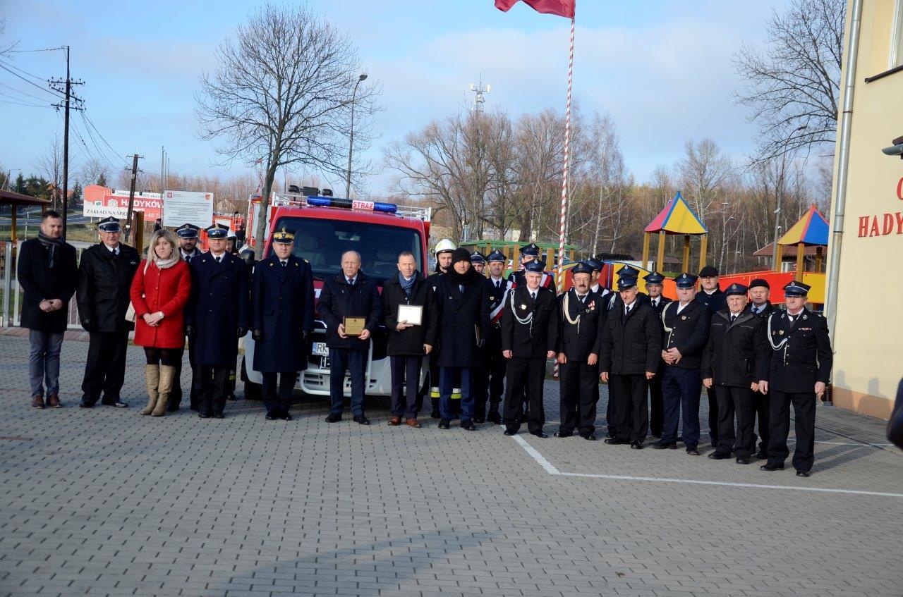 Strażacy z OSP z Hadykówki poświęcili swój nowy wóz [ZDJĘCIA] - Zdjęcie główne