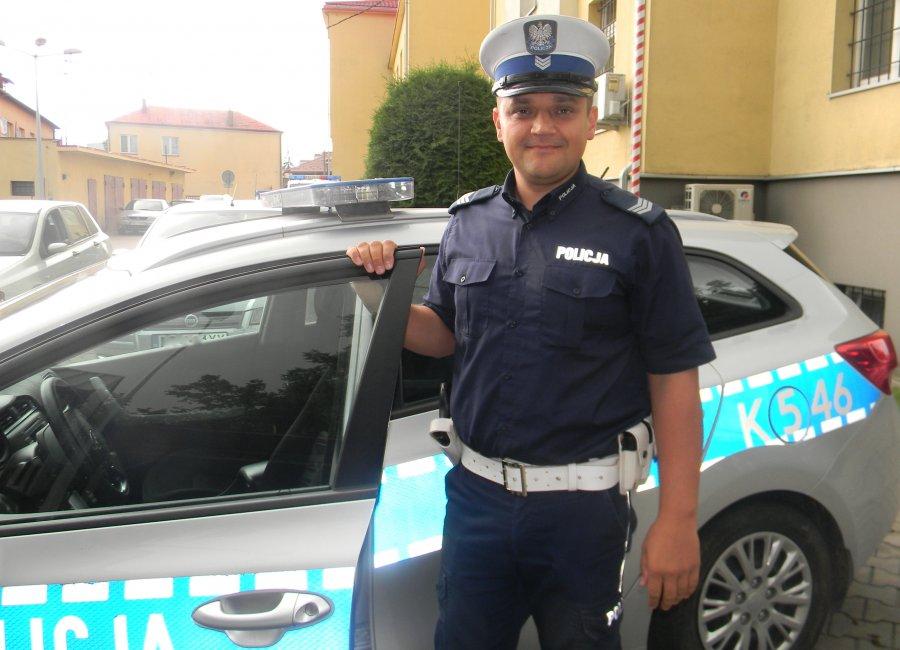 Policjant z Kolbuszowej, podczas urlopu, uratował tonące dziecko - Zdjęcie główne