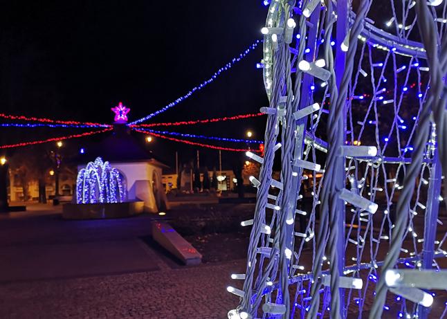 Świąteczne oświetlenie w Kolbuszowej [VIDEO] - Zdjęcie główne