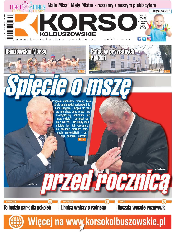 Nowy numer Korso Kolbuszowskie - nr 14/2018 - Zdjęcie główne