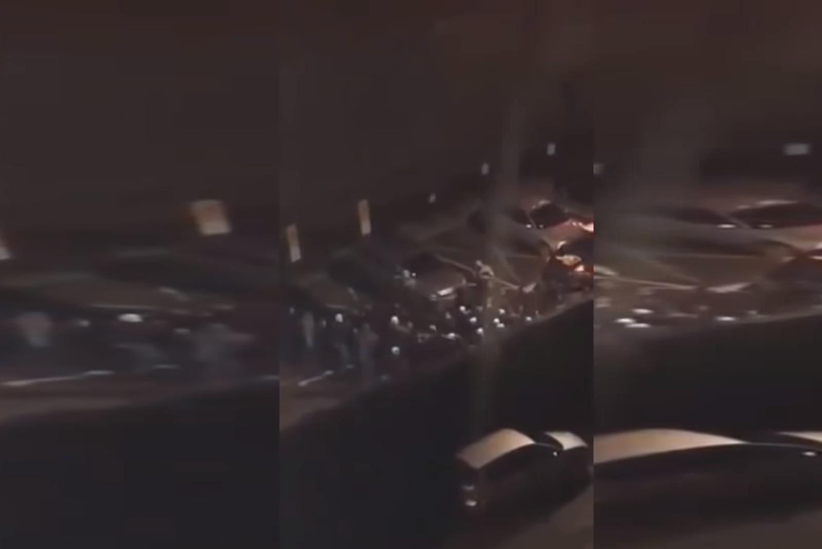 Z PODKARACIA. Kibole urządzili ustawkę pod galerią handlową [FOTO VIDEO] - Zdjęcie główne
