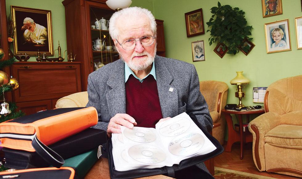 Adam Kardyś nagrał już ponad 300 wydarzeń związanych z Kolbuszową - Zdjęcie główne