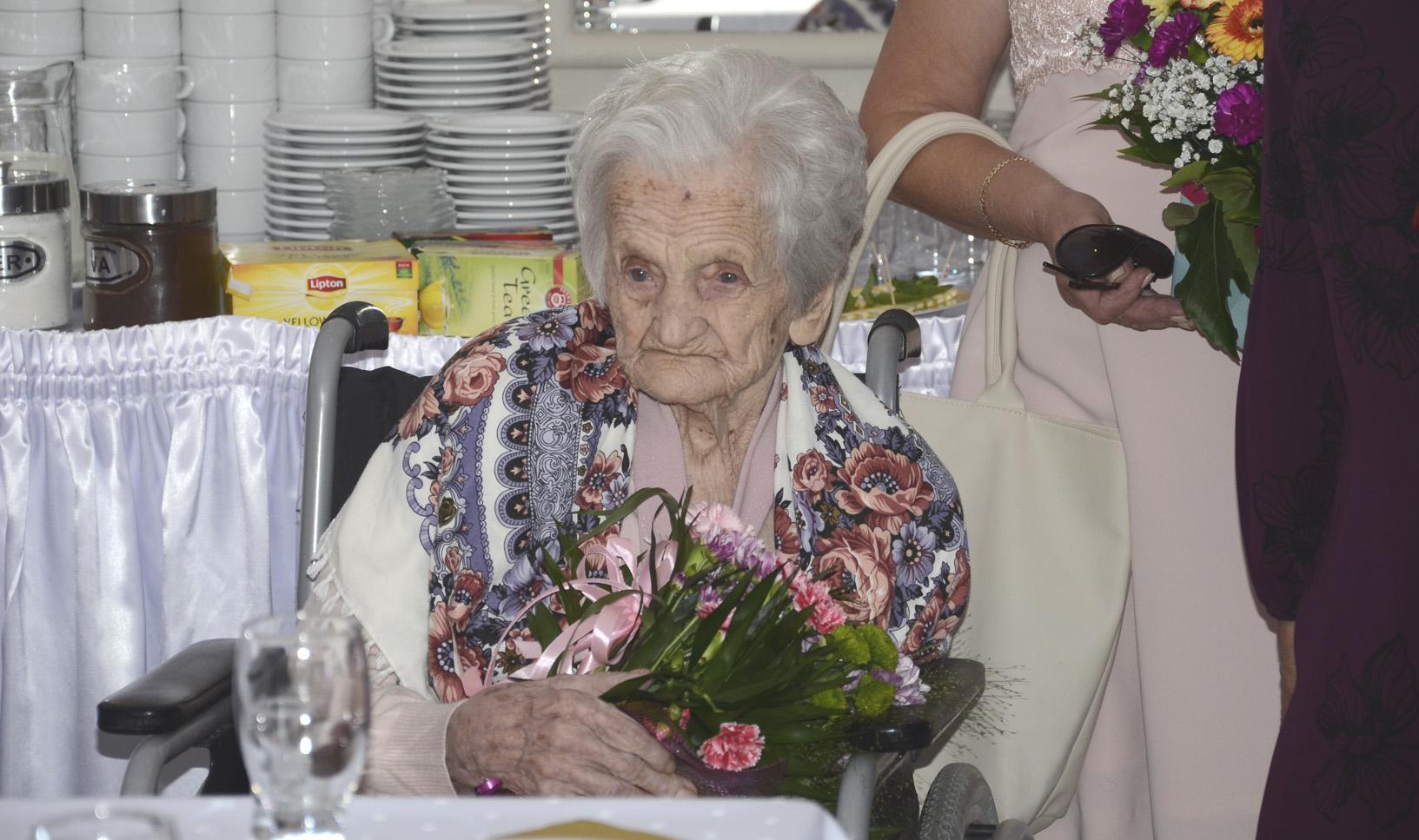 Waleria Pogoda z Huciny obchodziła 100 urodziny  - Zdjęcie główne