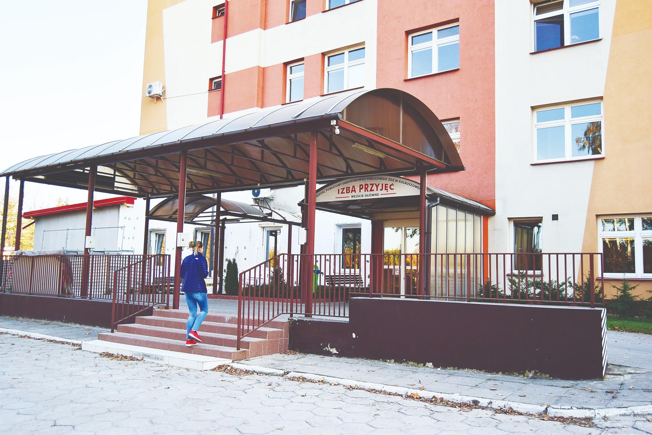 Pracownik firmy świadczącej usługi w kolbuszowskim szpitalu przyszedł do pracy pod wpływem alkoholu - Zdjęcie główne