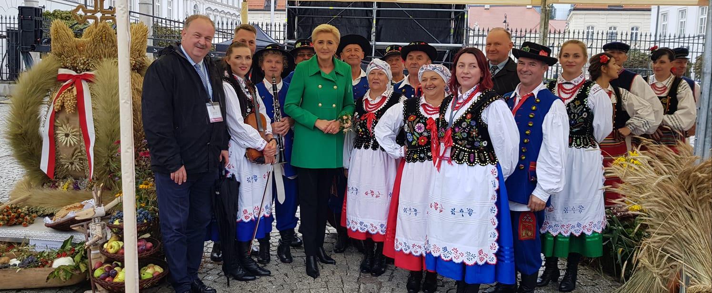 Dożynki Prezydenckie 2021. Nagrody dla gospodyń z Podkarpacia  - Zdjęcie główne