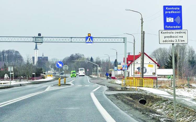 Odcinkowy pomiar prędkości w Kolbuszowej Górnej zostanie uruchomiony na wiosnę - Zdjęcie główne