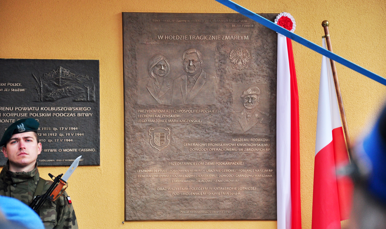 Te miejsca w Kolbuszowej przypominają o katastrofie smoleńskiej [FOTO - WIDEO] - Zdjęcie główne