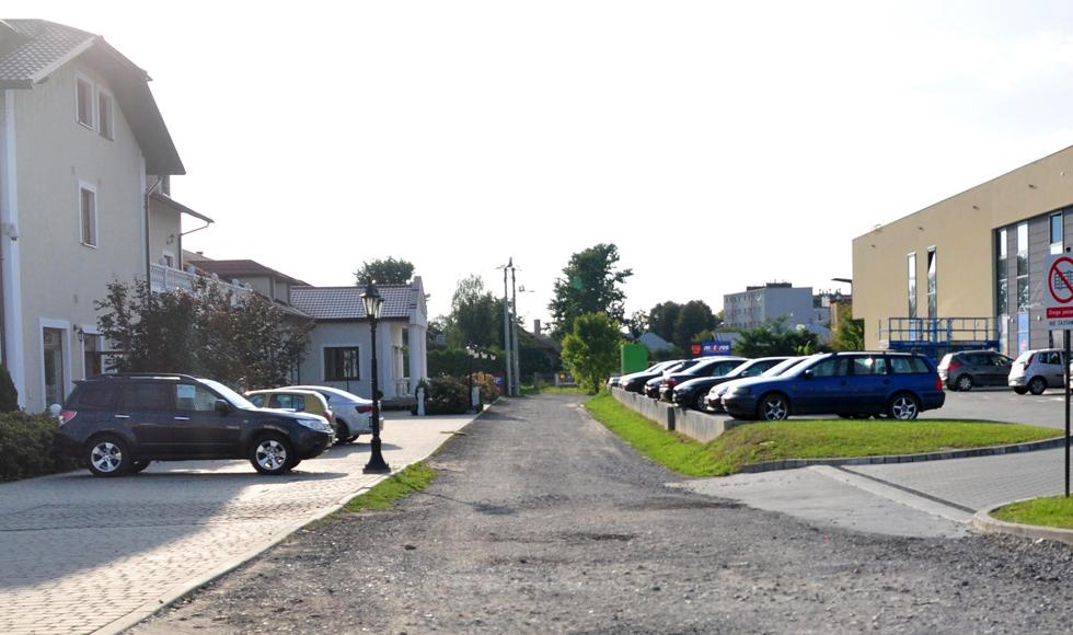 Rusza przebudowa drogi między Dworkiem a Galerią nad Nilem w Kolbuszowej  - Zdjęcie główne