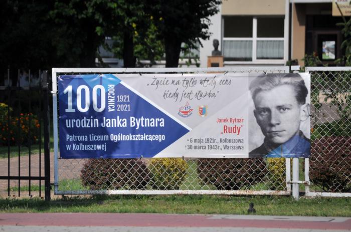 Mural Janka Bytnara powstanie w Kolbuszowej. Gdzie? - Zdjęcie główne