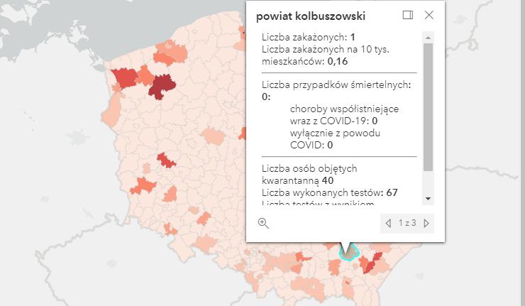 Zakażenia Covid-19 w powiecie kolbuszowskim i w kraju [poniedziałek - 30 sierpnia] - Zdjęcie główne
