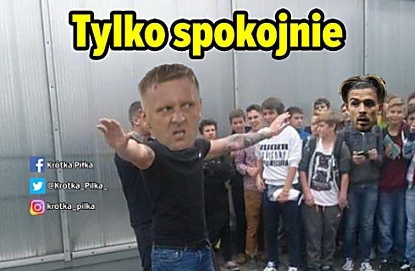 Internauci komentują mecz POLSKA - ANGLIA. Glik zjadł wiadro witamin, a Szymański był jak czołg [MEMY] - Zdjęcie główne