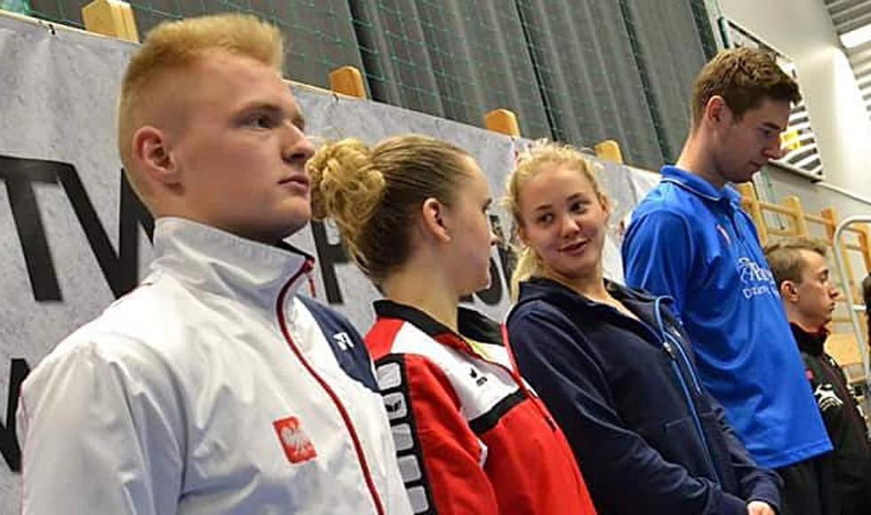 BADMINTON. Konrad Płoch wywalczył w rozegranych w Białymstoku mistrzostwach Polski srebrny medal  - Zdjęcie główne