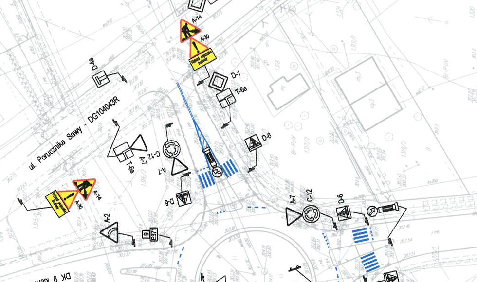 Ciężki sprzęt na ul. Sawy w Kolbuszowej. Trwa budowa małej obwodnicy Kolbuszowej i Weryni  - Zdjęcie główne
