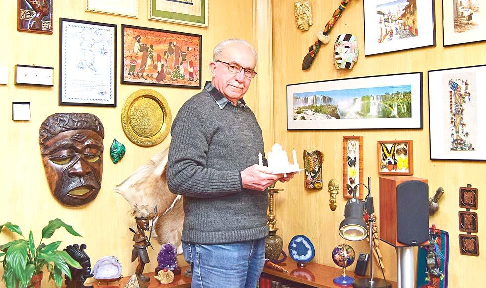 Jerzy Osiniak z Kolbuszowej zwiedził blisko 50 krajów - Zdjęcie główne