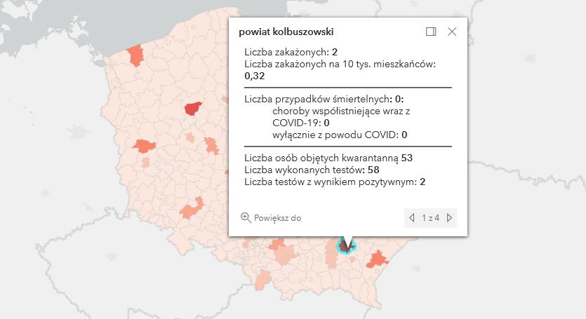 Raport zakażeń Covid-19. W powiecie kolbuszowskim 2 przypadki [poniedziałek - 28 czerwca] - Zdjęcie główne