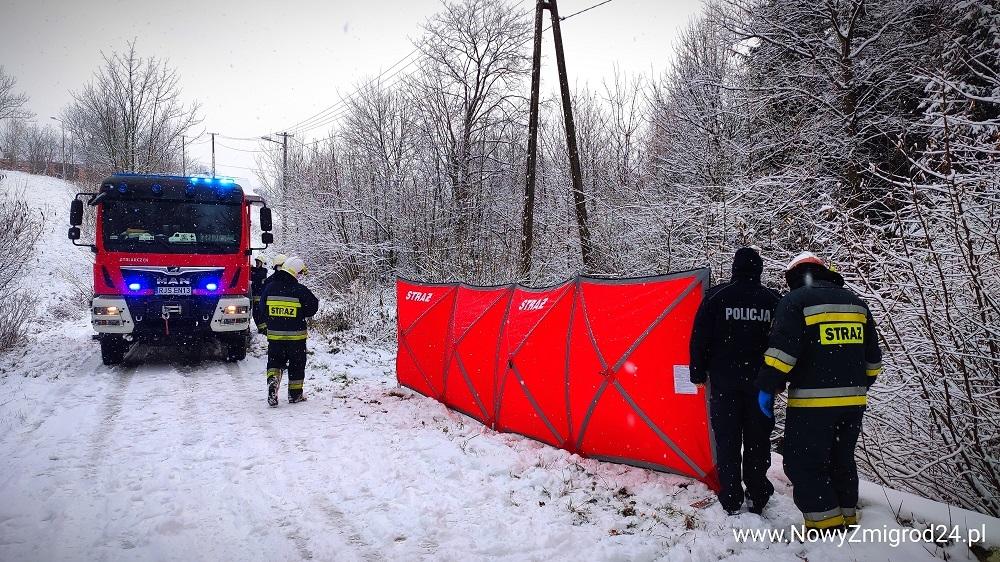 Podkarpacie. 55-latek odnaleziony martwy w potoku [FOTO] - Zdjęcie główne