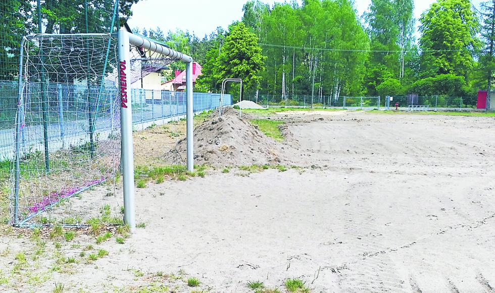 Gmina Dzikowiec. W Mechowcu powstaje kompleks sportowy za prawie 800 tys. złotych  - Zdjęcie główne
