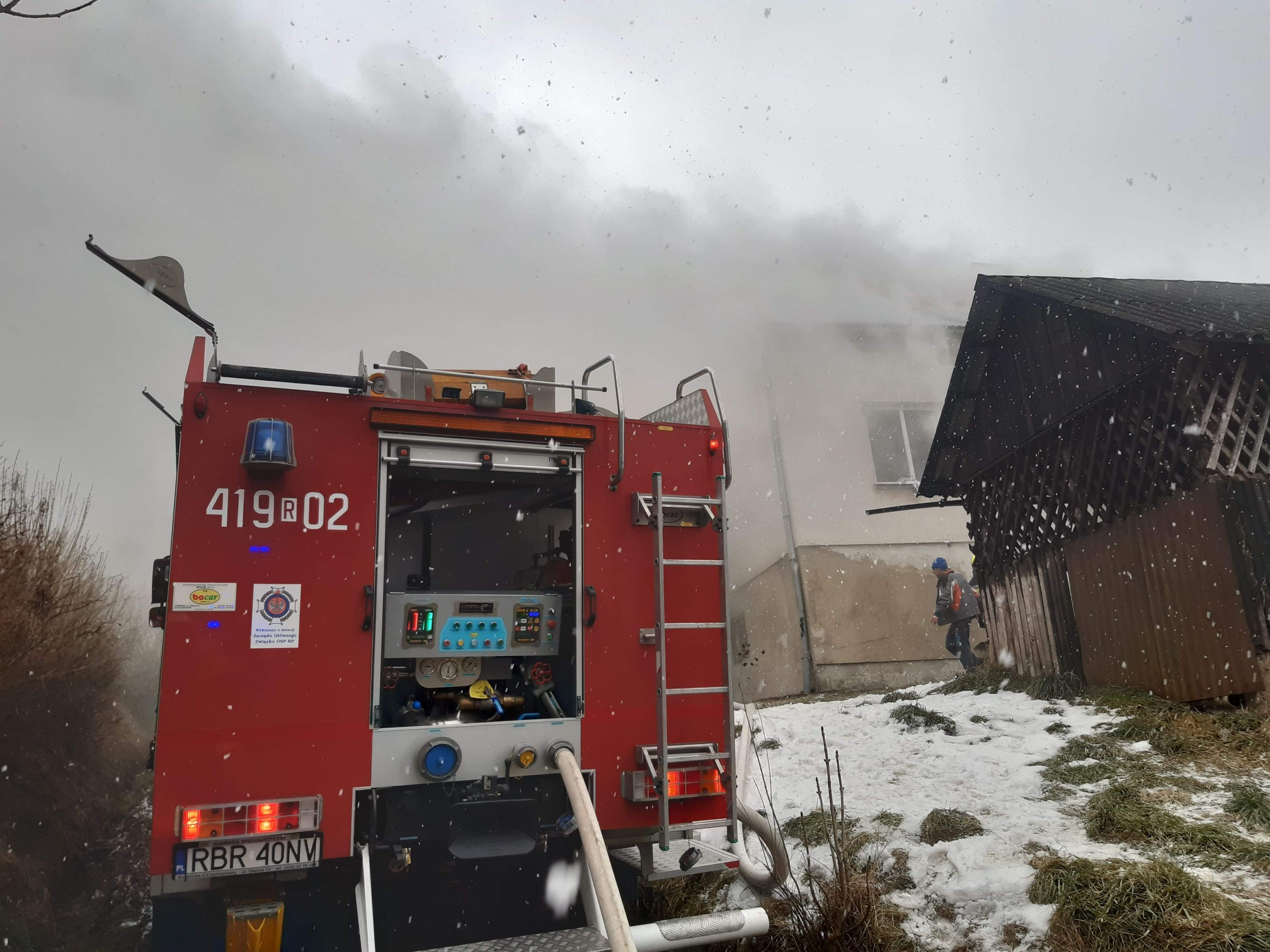 Podkarpacie: Podpalił dom z inwalidą w środku - Zdjęcie główne