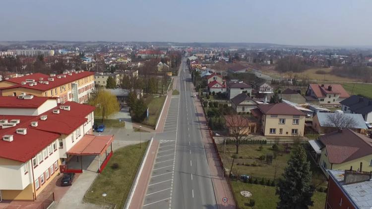 Kolbuszowa widziana z drona [VIDEO] - Zdjęcie główne