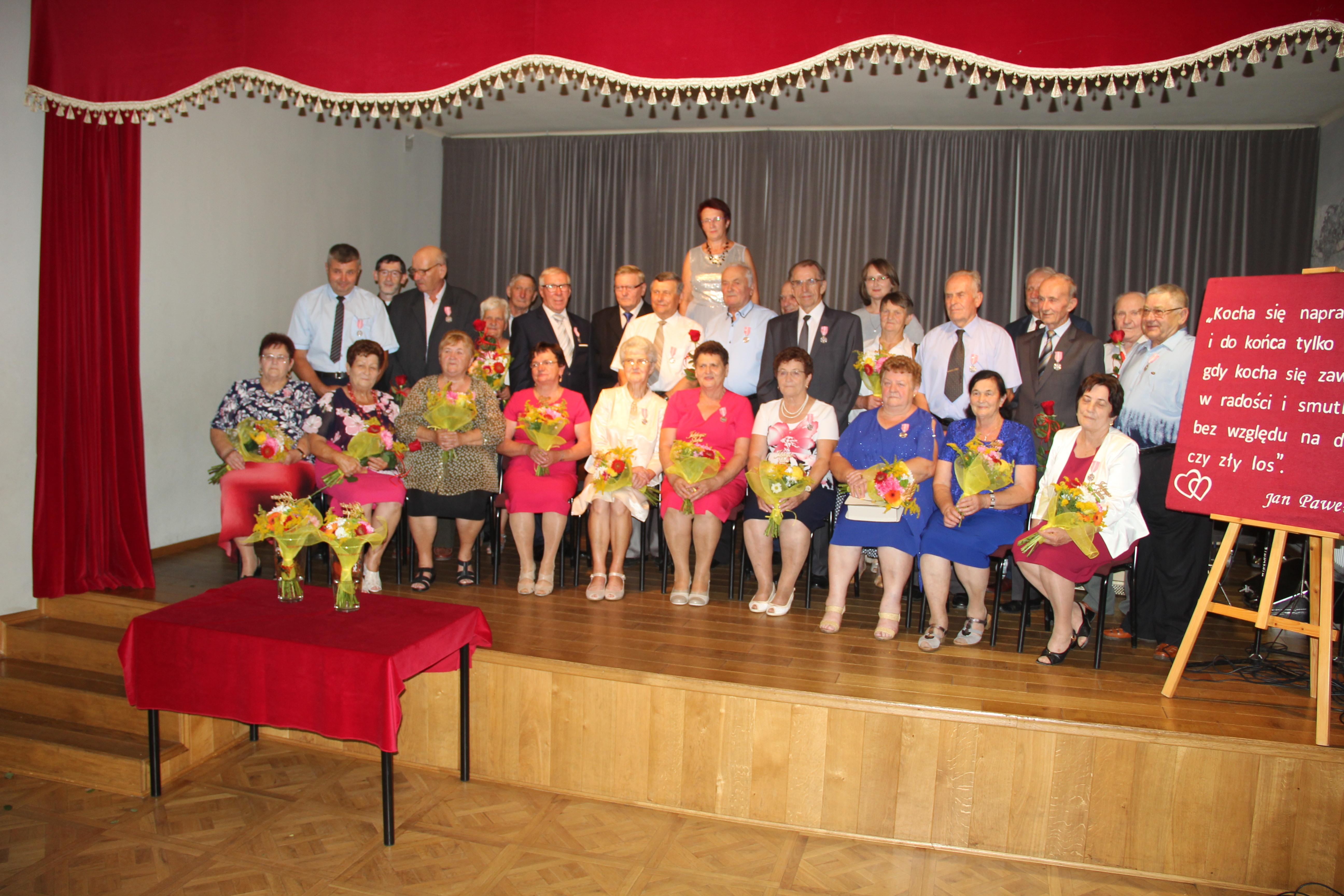 Małżeństwa z gminy Niwiska na medal  - Zdjęcie główne