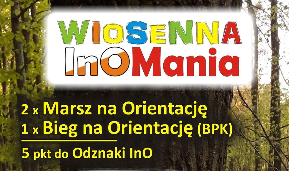 """Marsz i bieg na orientację """"Wiosenna InOMania"""" w Kolbuszowej  - Zdjęcie główne"""