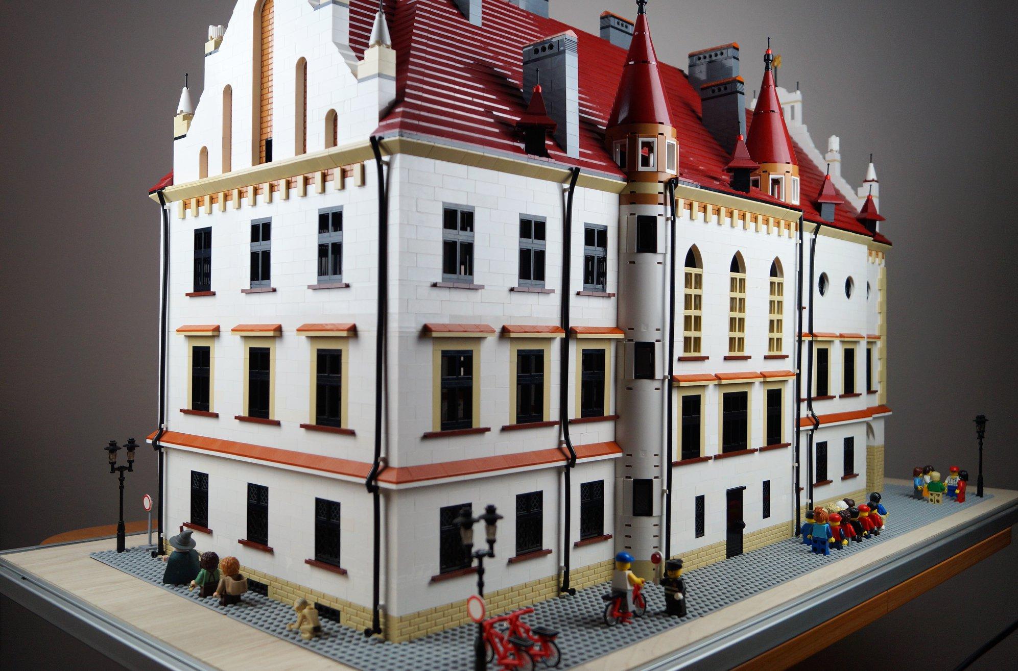 Rzeszów budowany z klocków lego  - Zdjęcie główne