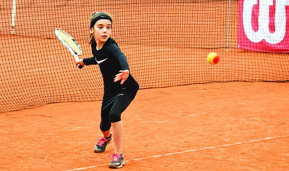 TENIS ZIEMNY. Oliwia Sybicka zdobyła pierwszy medal na Halowych Mistrzostwach Polski Krasnali  - Zdjęcie główne
