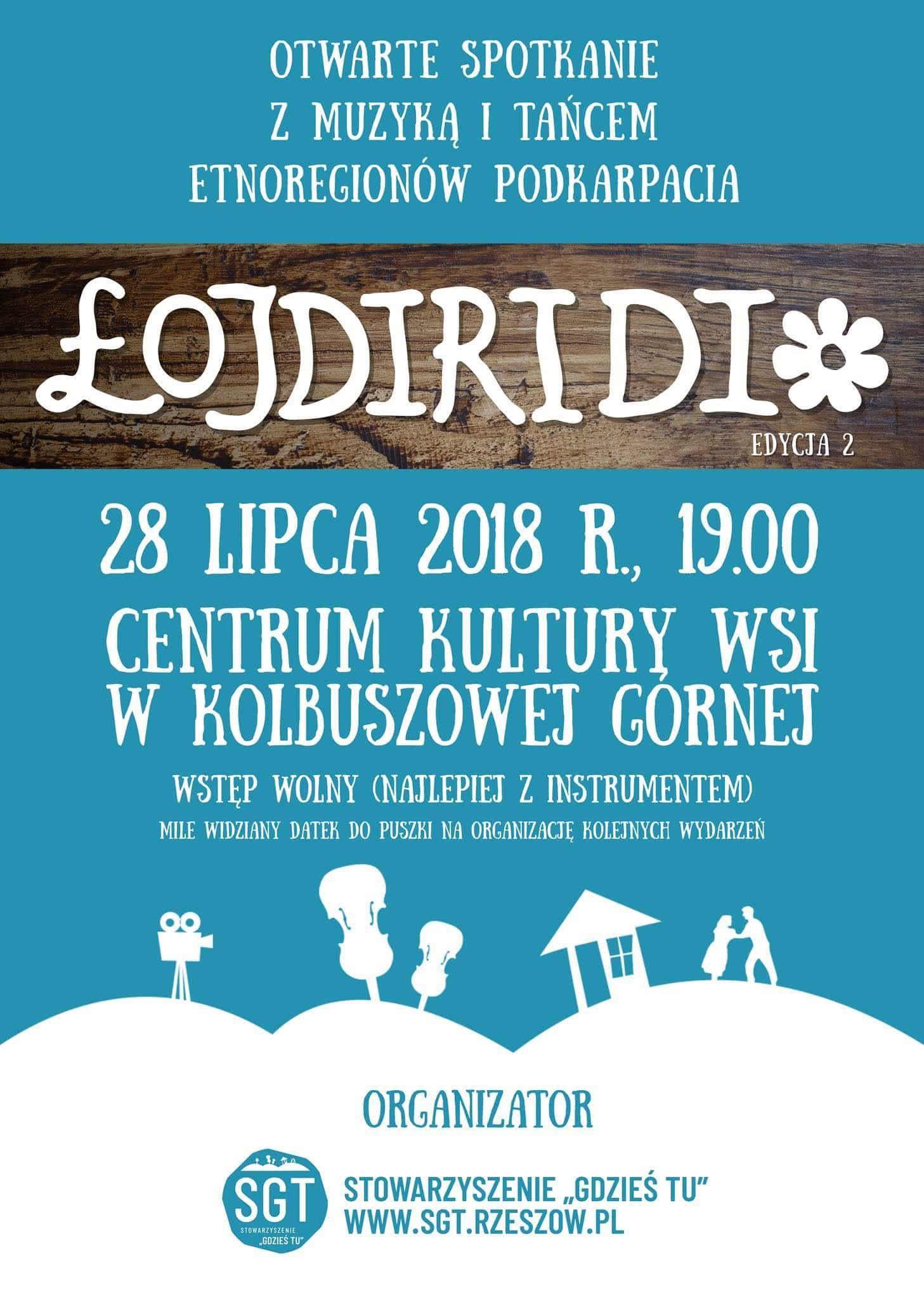"""Potańcówka z muzyką na żywo, czyli """"Łojdiridi"""" w Kolbuszowej Górnej - Zdjęcie główne"""