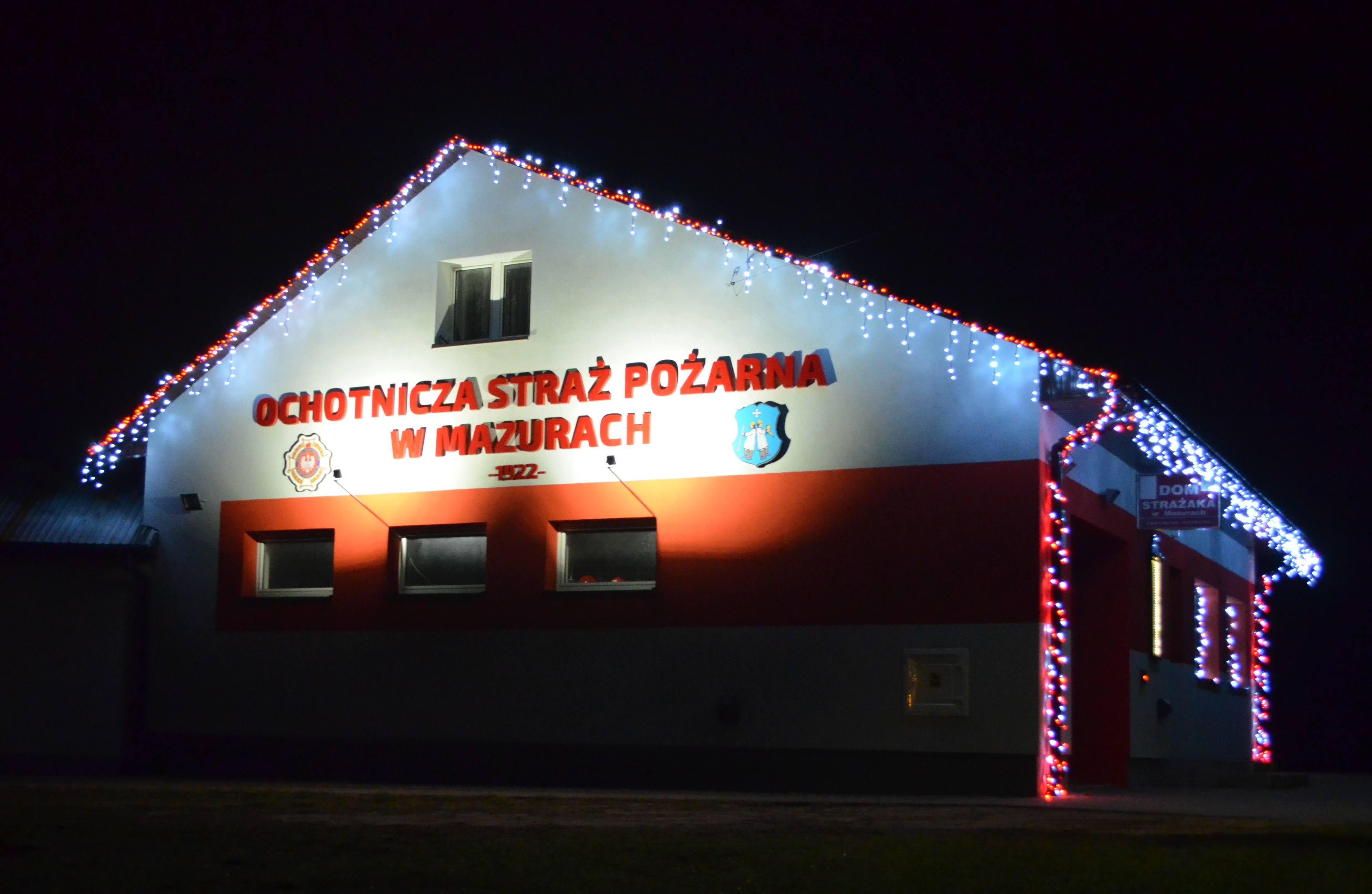 Remiza strażacka w świątecznym wydaniu [FOTO] - Zdjęcie główne