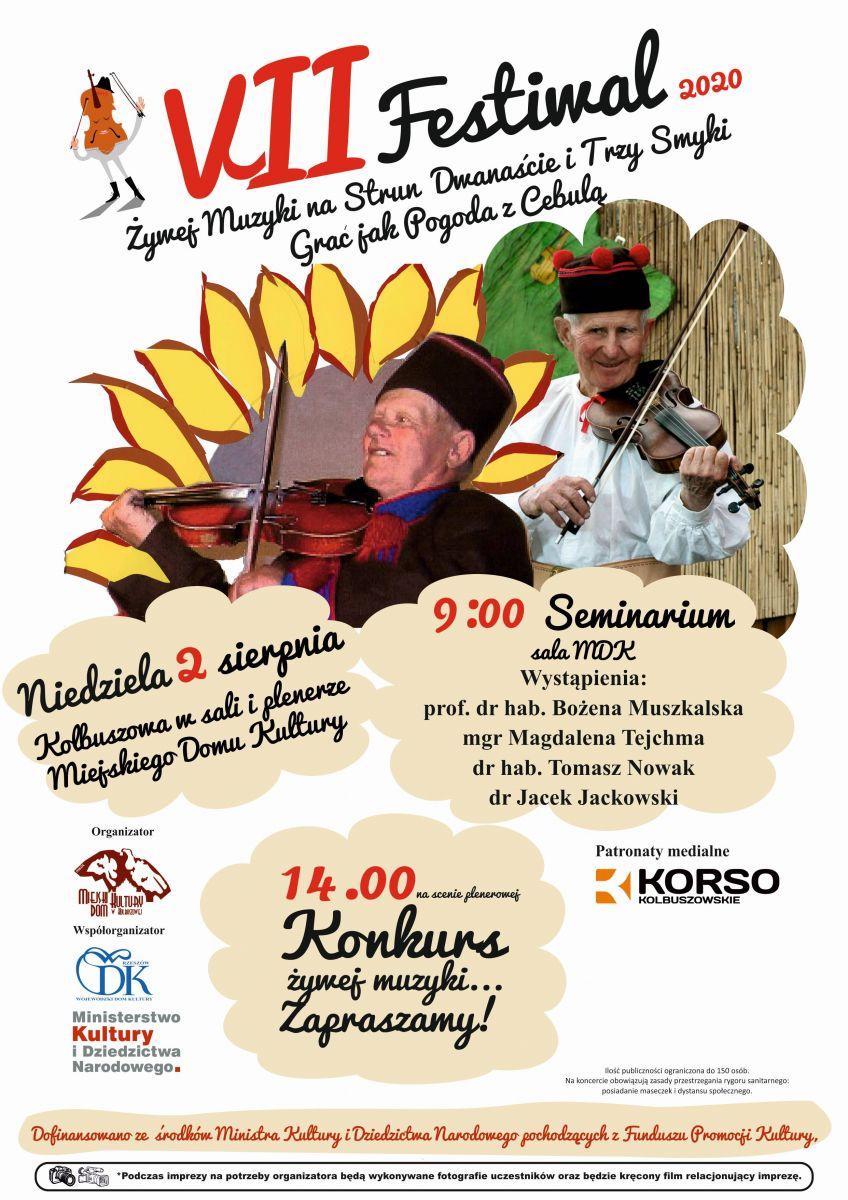 Już niebawem VII Festiwal Żywej Muzyki w Kolbuszowej - Zdjęcie główne